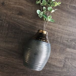 Other - NWOT Ceramic Two Tone Vase
